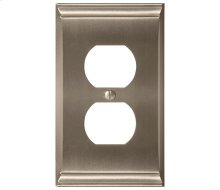 Candler 1 Receptacle Wall Plate