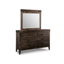 Chattanooga 6 Drawer Long Dresser