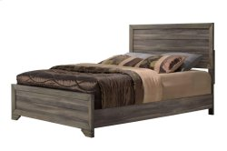 Asheville Driftwood King Panel Bed