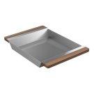 Tray 205041 - Walnut Fireclay sink accessory , Walnut Product Image