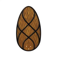 Climates Accessory Blades Brown Rattan