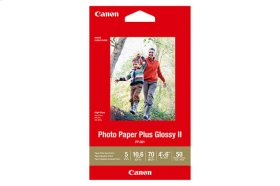 Canon Photo Paper Plus Glossy - PP-301 - 4x6 (50 Sheets) Photo Paper Plus Glossy II
