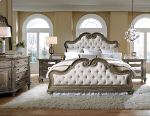 Queen Upholstered Footboard & Slats