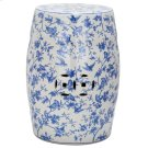 Blue Birds Garden Stool - Blue Pattern Product Image