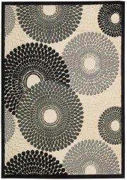 "GRAPHIC ILLUSIONS GIL04 PARCH RECTANGLE RUG Available in Sizes:  2'.3""X 3'.9"",  2'.3""X 8'.0"",  3'.6""X 5'.6"",  5'.3""X 7'.5"",  7'.9""X 10'.10"" Product Image"