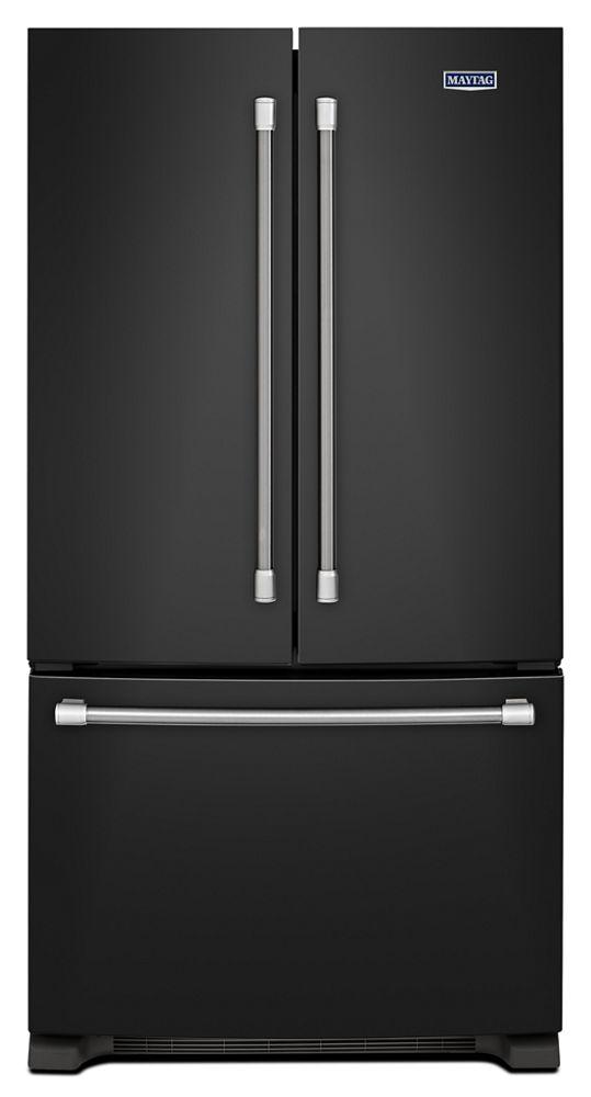 36 Inch Wide French Door Refrigerator   25 Cu. Ft. Hidden