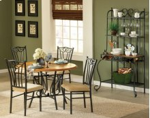 Sienna Base & 4 Side Chairs