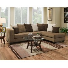 4125-01L RSF Sectional Chaise