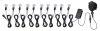 Micro Light String - Low Volt - 1 Inch Diameter Lens .07W Each