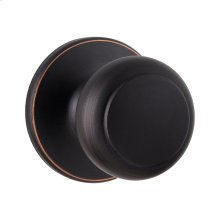 Cove Hall/Closet Knob - Venetian Bronze