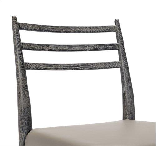 Beckham Side Chair - Charcoal/ Grey