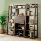 Perspectives - Bar Cabinet - Brushed Acacia Finish Product Image