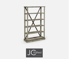 Rustic Grey tag re or Bookcase