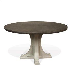 Juniper Table Base 68 lbs Chalk/Charcoal finish