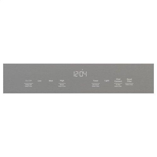 "30"" WiFi Enabled Designer Wall Mount Hood w/ Perimeter Venting"