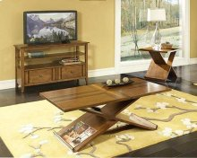 Birch w/ Walnut Inlay Coffee & End Table Set