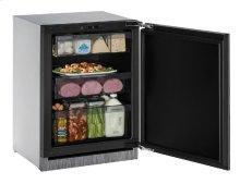 "Modular 3000 Series 24"" Solid Door Refrigerator With Integrated Solid Finish and Field Reversible Door Swing"