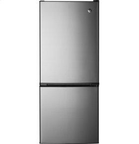GE® 10.5 Cu. Ft. Bottom-Freezer Refrigerator