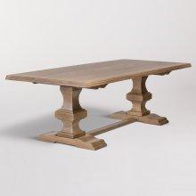 """Summerton 96"""" Trestle Dining Table"""