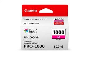 Canon PFI-1000 Magenta Ink Tank Magenta Individual Ink Tank