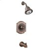 Portsmouth Flowise Pressure Balance Shower - Brushed Nickel