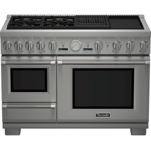 Thermador 48-Inch Pro Grand® Commercial Depth Dual Fuel Steam Range