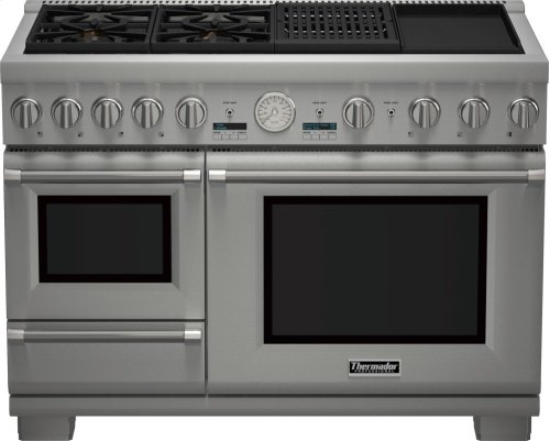 DEEPLY DISCOUNTED - SAVE!!! THERMADOR 48-Inch Pro Grand® Commercial Depth Dual Fuel Steam Range - SHOWROOM DEMO MODEL - FULL WARRANTY