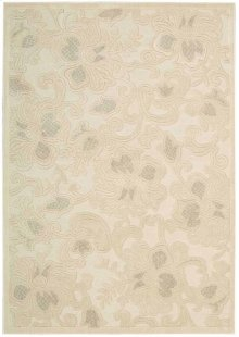 Graphic Illusions Gil02 Crm Rectangle Rug 5'3'' X 7'5''