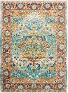 Delmar Dlm08 Multicolor Rectangle Rug 5'3'' X 7'3''