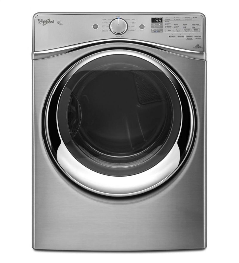 Duet Electric Steam Dryer With Energy Star Qualification