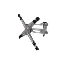 Dyno 102 Medium Articulating TV Mount Universal Adapter, Graphite Black