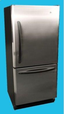 17.6 Cu. Ft. Frost-free Bottom Mount Refrigerator/Freezer - ENERGY STAR®, Built-In Ice Maker