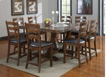 Emerald Home Castlegate Gathering Table Kit Pine D942dc-16-k