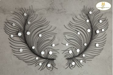 Wall Mirror, One Pair