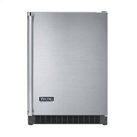 """Stainless Steel 24"""" Solid Door Beverage Center - VUAR (Right Hinge Solid Door)"""
