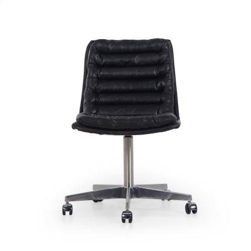 Rider Black Cover Malibu Desk Chair