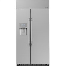 """Heritage 42"""" Built-In Side-by-Side Refrigerator"""