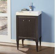 "Charlottesville w/Nickel 21X18"" Vanity - Vintage Black Product Image"
