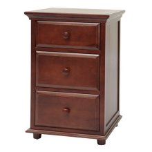 3 1/2 Drawer Dresser w/ Crown & Base : : Chestnut :