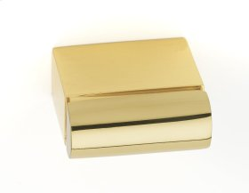 Vogue Knob A430 - Polished Brass