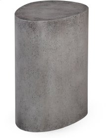 Everly Concrete Oval Stool