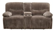 Emerald Home Harrison Motion Loveseat W/console & Power Mocha Brown U5026a-21-15