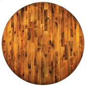 """Abaco Double Drop Leaf Table 42"""" Round Product Image"""