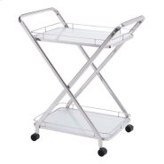 Vesuvius Serving Cart Stainless Steel Product Image