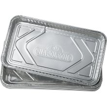 "Large Grease Drip Trays (14"" x 8"") Pack of 5"