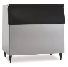 "48"" W Ice Storage Bin - Stainless Steel Exterior"