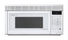 Sharp Carousel Over-The-Counter Microwave Oven 1.1 cu. ft. 850W White
