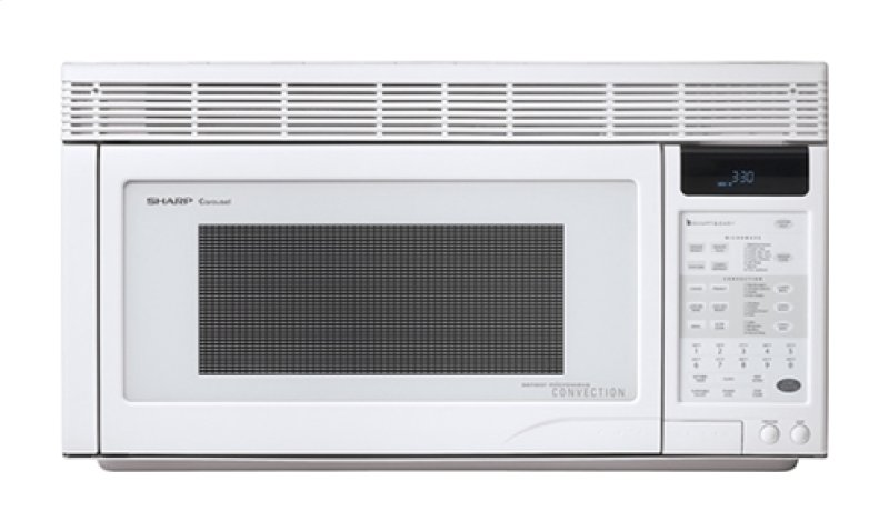 Sharp Carousel Over The Counter Microwave Oven 1 Cu Ft 850w White Hidden