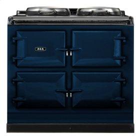 Dark Blue AGA Dual Control 3-Oven Natural Gas