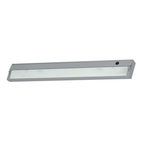 Zee-Lite Xenon 12V - 4 light, 34 1 / 2-inch w / lamps. Stainless Steel finish.